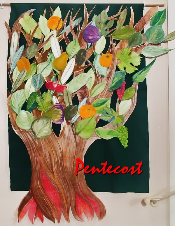 Pentecost Tree by Michelle Steen