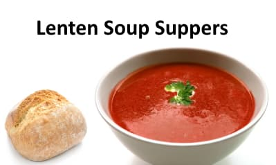 Lenten Soup Suppers at Pacific Hills Lutheran Church
